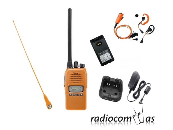 Icom Pro P600LS headsett Radiocom AS