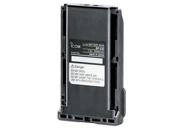 Batteri BP-232H til Icom IC-Prohunt basic/F34/F3032 2300 mAh