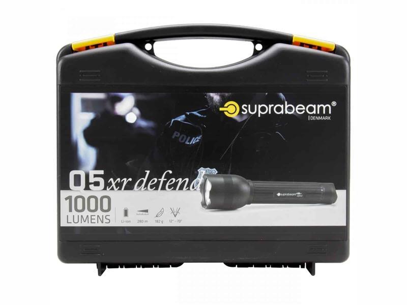 SUPRABEAM LYKT Q5 XR DEFEND 1000 LUMEN | Elektroimportøren AS